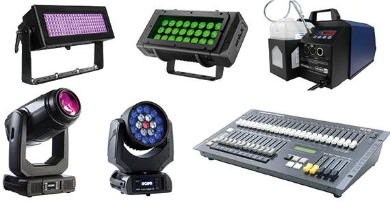 照明機材レンタル