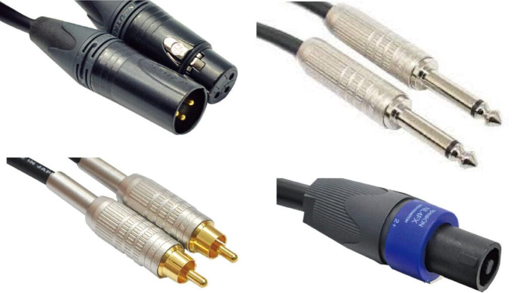 音響機材用ケーブル